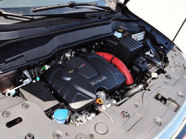 哈弗汽车 1.5t 手动 发动机主体特写