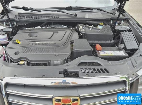吉利汽车 2.0l 自动 发动机局部特写