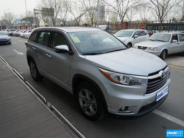 丰田汉兰达价格 七座汉兰达现车全国销售