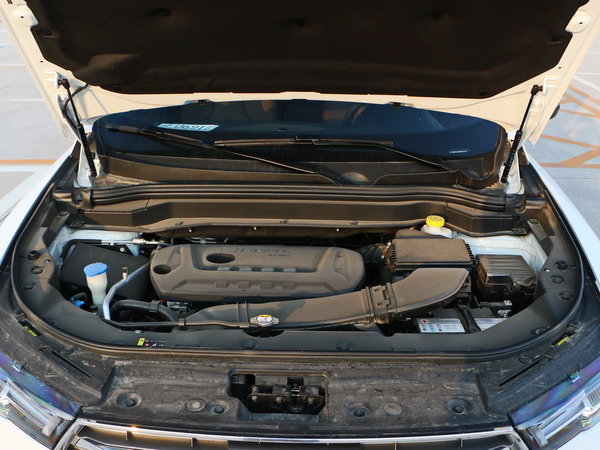 哈弗汽车 全新 蓝标 发动机舱