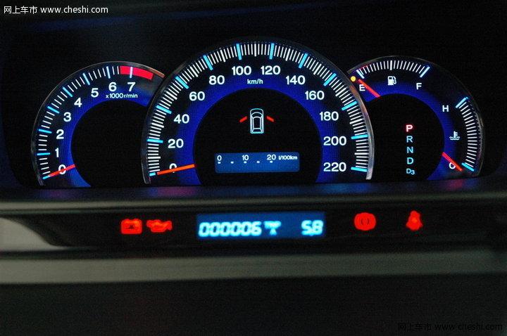 奥德赛 本田 奥德赛 2008款 仪表盘整体 图片