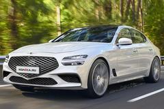 捷尼赛思全新G70!对标奥迪A4/轿跑造型运动感十足