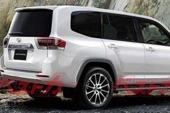 """丰田新一代""""陆巡""""将搭3.3T引擎 车身尺寸增加"""